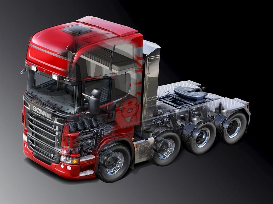 Картинка грузовика в разрезе итоге