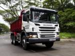 Scania P380 6x4 Tipper 2011 года