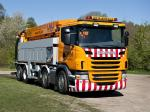 Scania G480 8x2 Sewer Cleaner 2012 года