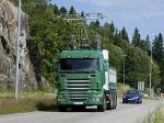 Scania-Siemens e-Highway 8x4 Trolley Truck 2012 года