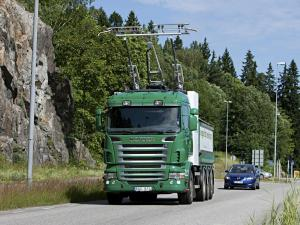 2012 Scania-Siemens e-Highway 8x4 Trolley Truck