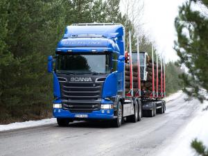 2013 Scania R520 6x4 Streamline Highline Cab Timber Truck