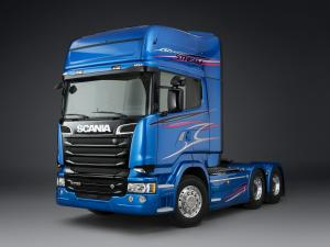 2014 Scania R730 6x2 Blue Stream