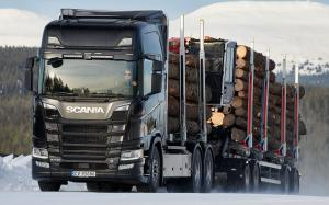 Scania R 730 6x4 Highline CR20H Timber Truck 2016 года