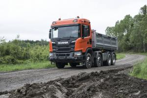 2017 Scania G 500 XT 8x4 Tipper