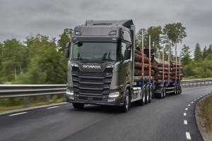 Scania S 730 8x4 Highline Timber Truck 2017 года