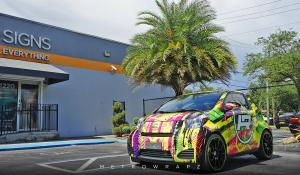 Scion iQ Irenko by MetroWrapz