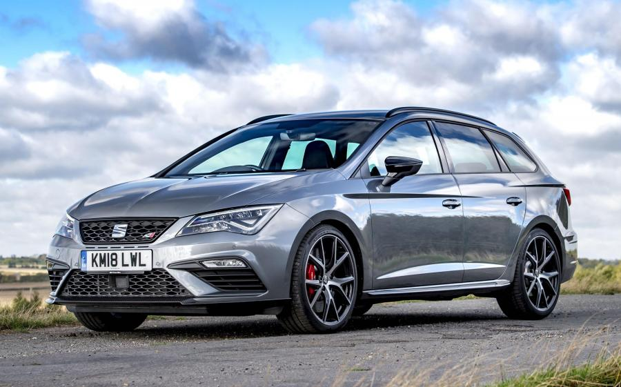 2018 Seat Leon ST Cupra Carbon Edition (UK)