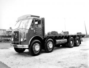 1958 Atkinson Black Knight 8x4 Flatbed Lorry