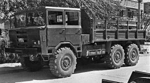 Shacman Crosscountry Truck Prototype '1968