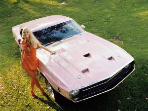 Shelby GT500 Playmate Pink 1969 года