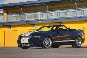 Shelby GT350 Convertible Number One 2012 года