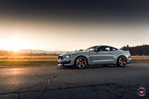 2019 Shelby GT350 on Vossen Wheels (GNS-1)