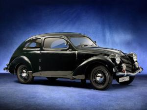 1939 Skoda Rapid OHV Streamlined Tudor
