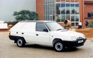 1991 Skoda Favorit Freeway Plus II Van