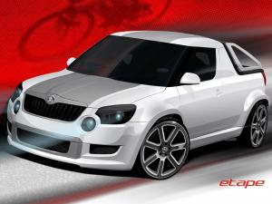 Skoda Etape Concept by BT Design 2012 года