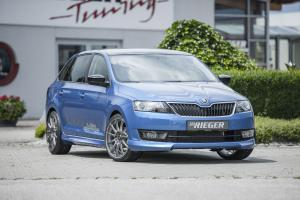 Skoda Rapid Spaceback by Rieger 2015 года