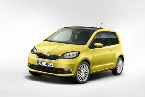 Skoda Citigo 3-Door 2017 года (WW)