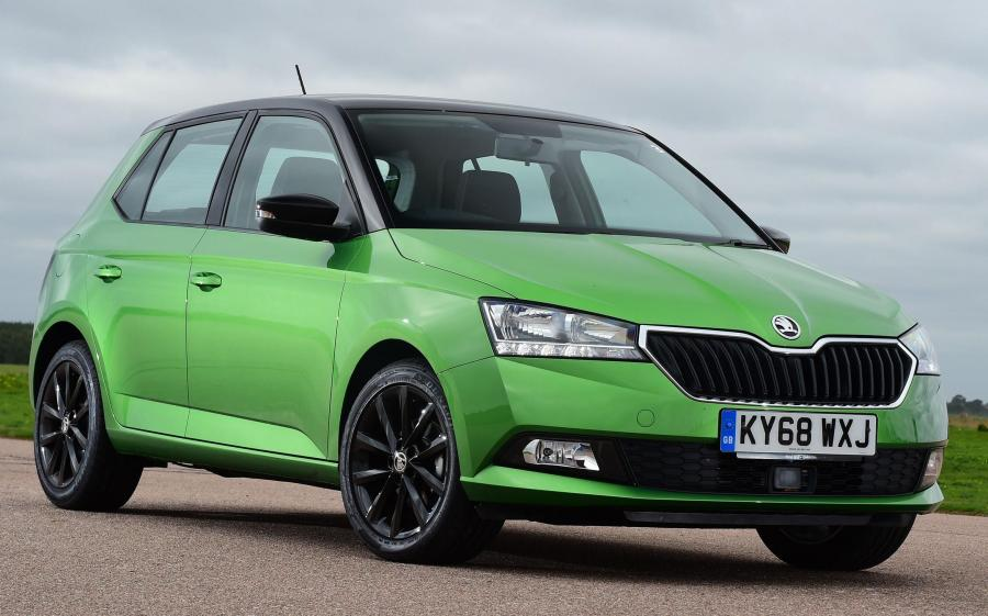 Skoda Fabia Colour Edition (NJ) (UK) '2018