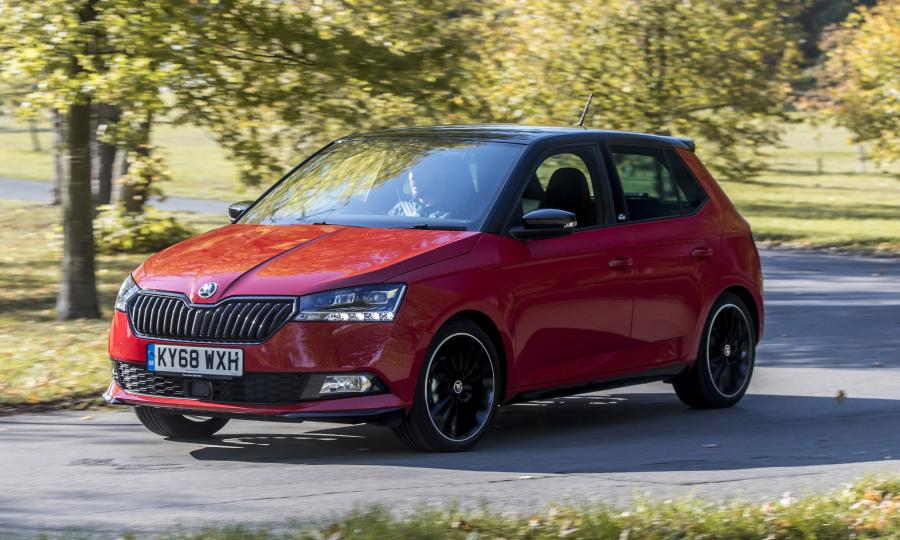 Skoda Fabia Monte Carlo (NJ) (UK) '2018