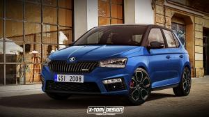 Skoda Fabia RS by X-Tomi Design 2018 года