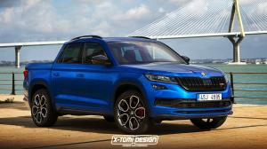 2018 Skoda Kodiaq RS Pickup by X-Tomi Design