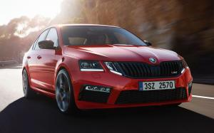 Skoda Octavia RS 245 Challenge Plus Package 2018 года (WW)