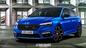 2018 Skoda Scala RS by X-Tomi Design