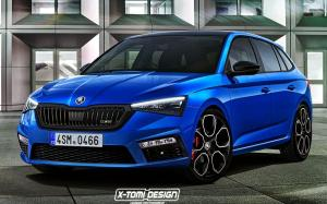 Skoda Scala RS by X-Tomi Design 2018 года
