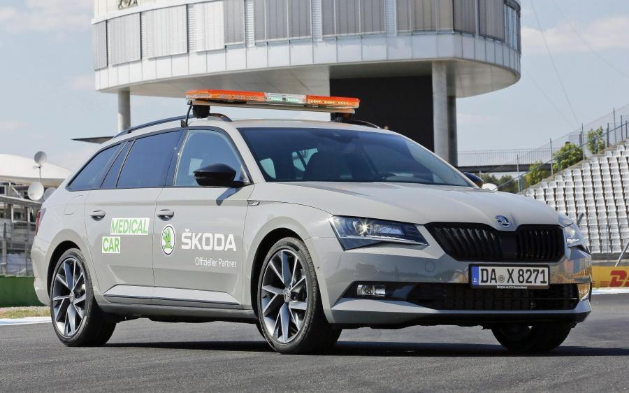 Skoda Superb Combi Sportline Medical Car Hockenheimring '2018