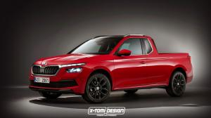 2019 Skoda Kamiq Pickup by X-Tomi Design