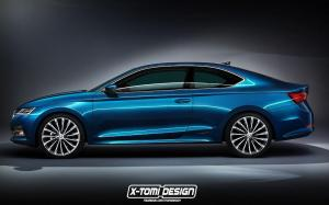 Skoda Octavia Coupe by X-Tomi Design '2019