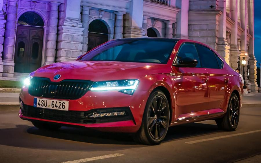 Skoda Superb 4x4 SportLine (WW) '2019