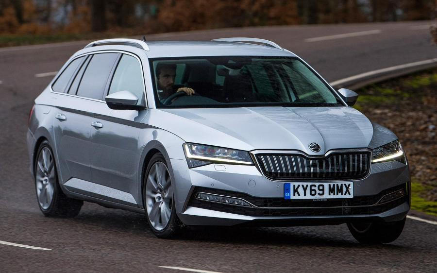 Skoda Superb iV Combi (3V) (UK) '2019