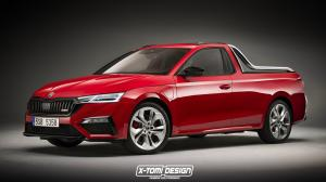 2020 Skoda Octavia RS iV Pickup by X-Tomi Design