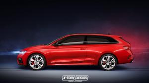 Skoda Octavia RS iV ShootingBrake by X-Tomi Design 2020 года