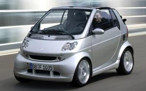 Smart ForTwo Cabrio by Brabus 2003 года