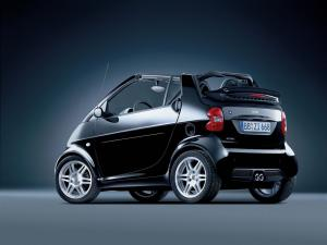 Smart ForTwo Cabrio Nightrun Edition by Brabus 2006 года