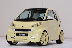 2009 Smart ForTwo Ultimate High Voltage Concept by Brabus