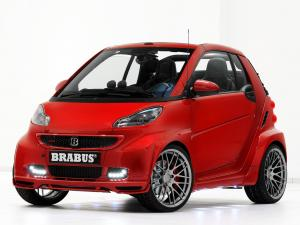 Smart ForTwo Ultimate 120 by Brabus 2012 года