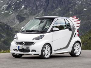 Smart ForTwo Edition by Jeremy Scott Electric Drive Coupe by Brabus 2013 года