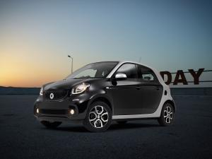 2015 Smart ForFour TS on Dezent Wheels