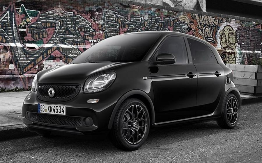 Smart ForFour Black Edition '2016