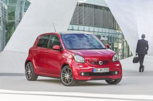 Smart ForFour Xclusive by Brabus 2016 года