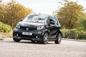 Smart ForTwo Cabrio Xclusive by Brabus 2016 года (UK)