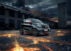 2016 Smart ForTwo Coupe Edition Urbanlava by Brabus