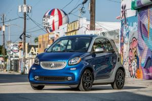 Smart ForTwo Prime Coupe Electric Drive 2016 года