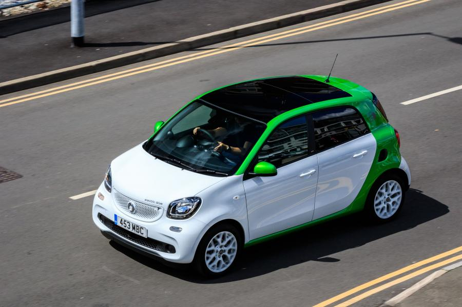 Smart ForFour Prime Electric Drive (W453) (UK) '2017