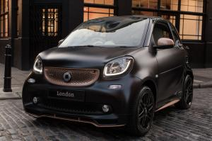 2017 Smart ForTwo Disturbing London Coupe by Brabus