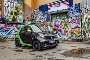 Smart ForTwo Prime Coupe Electric Drive 2017 года